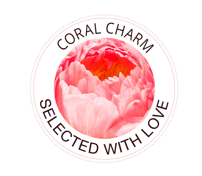 Coral Charm Pfingstrosen