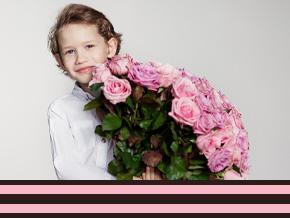 Blumen für Oma