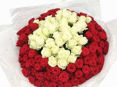 Füge eine Weiße oder Rote Rose hinzu